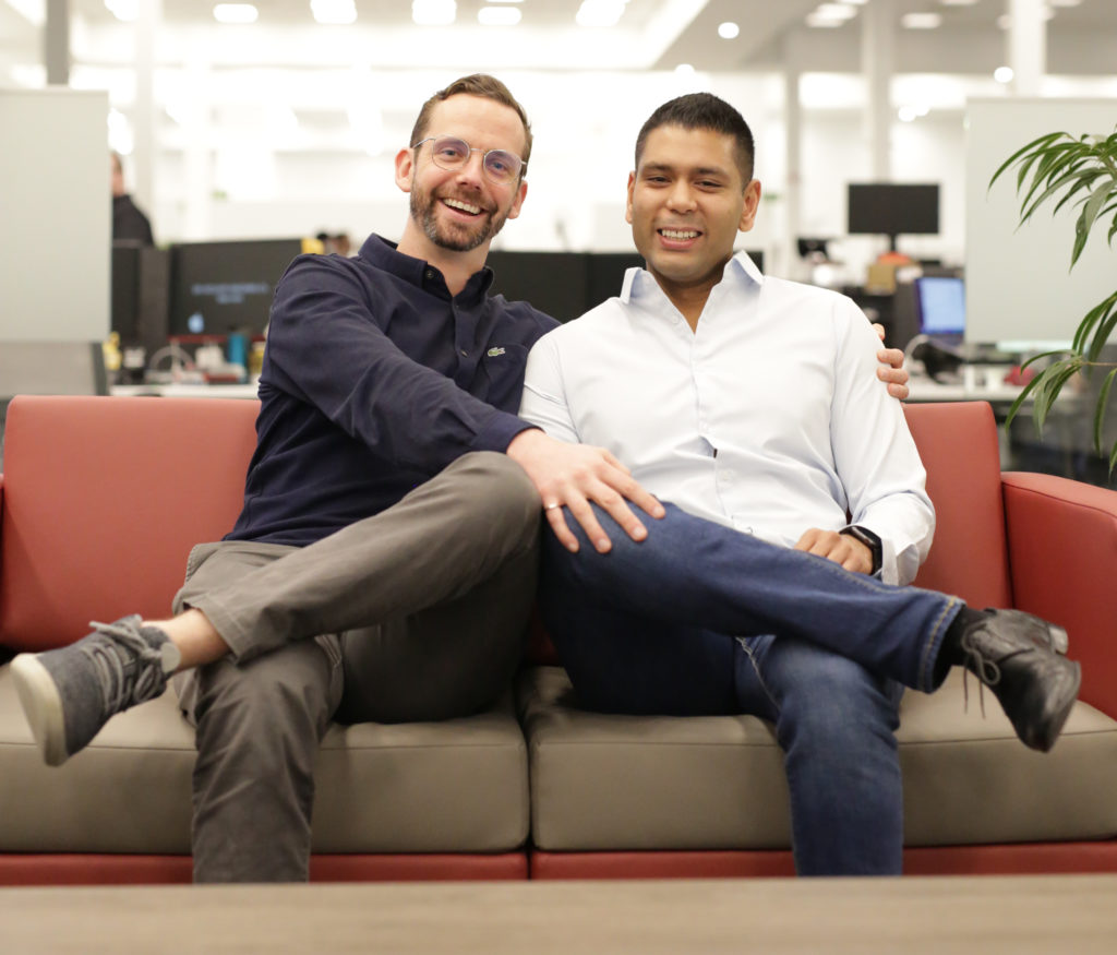 Alex Peters and Rohan Mahimker, co-CEOs of Prodigy Education