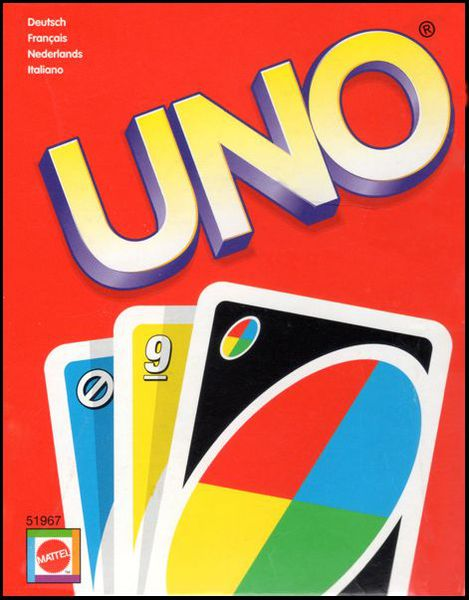 Uno classic card game board game