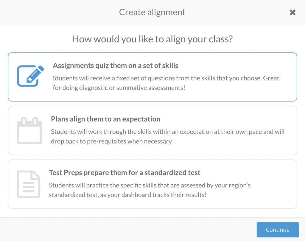 Prodigy align your class