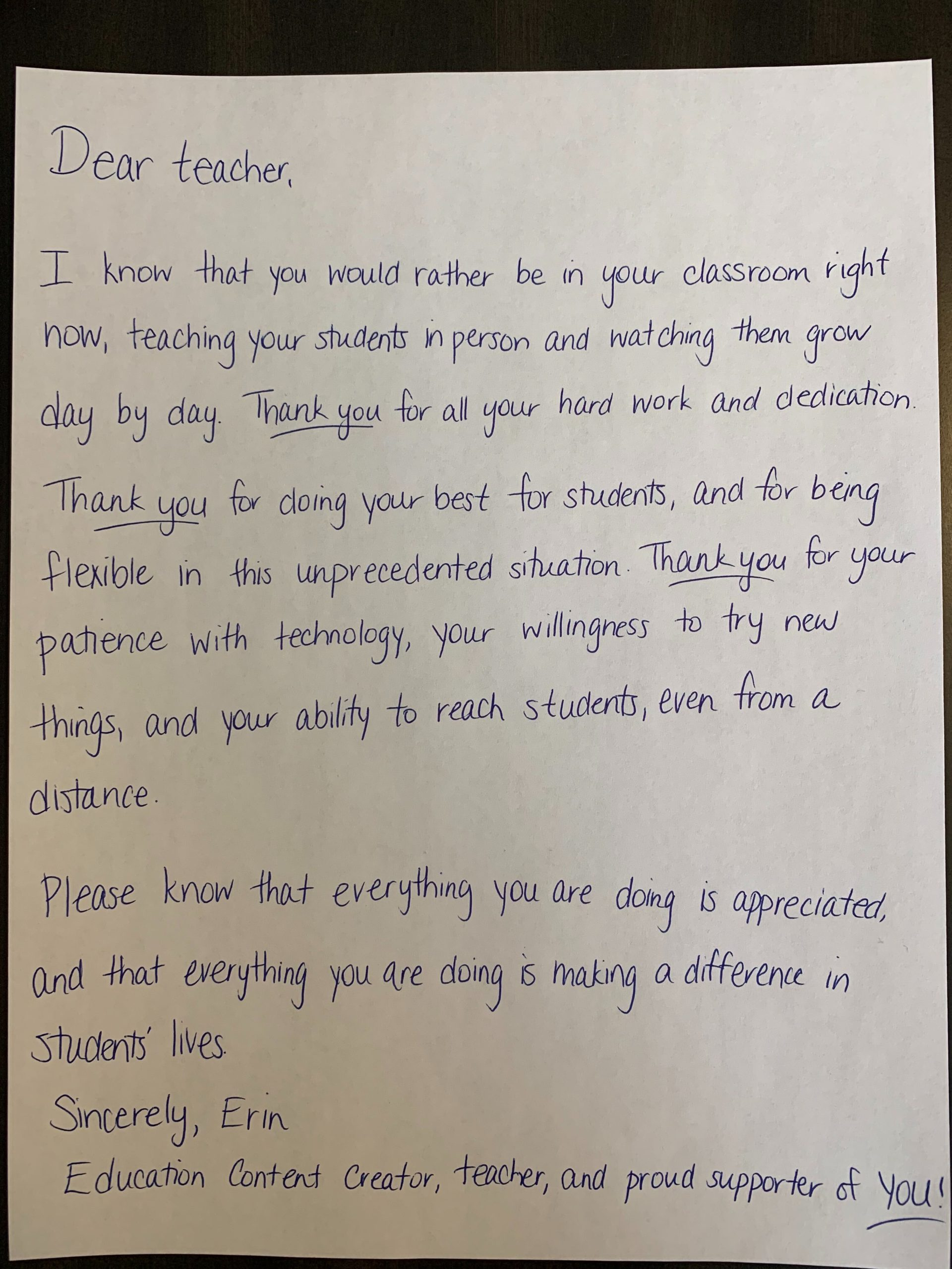 Happy Teacher Appreciation Week Letters To You From Prodigy Prodigy Education