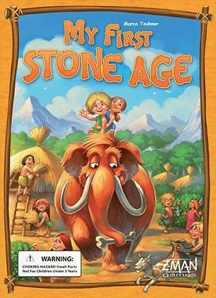 my first stone age board game for young children