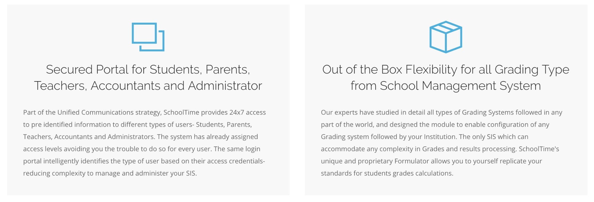 school admin management software