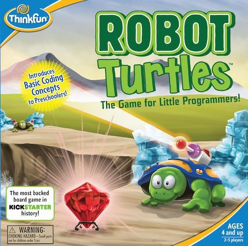 Robot Turtles educational board games for kids