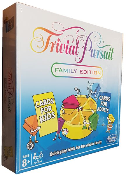 trivial pursuit: family edition board games for families