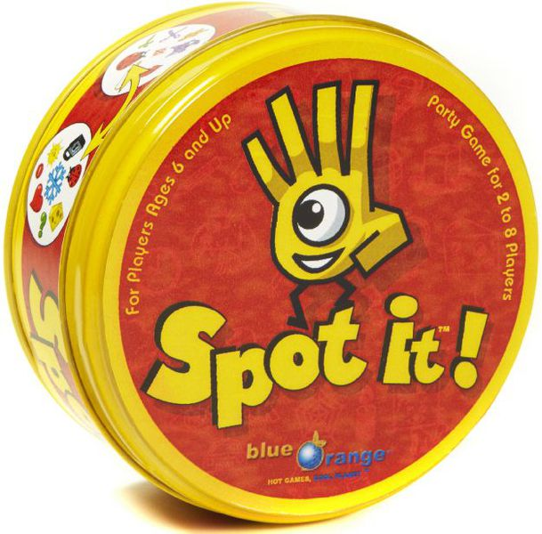 spot it board game travel game
