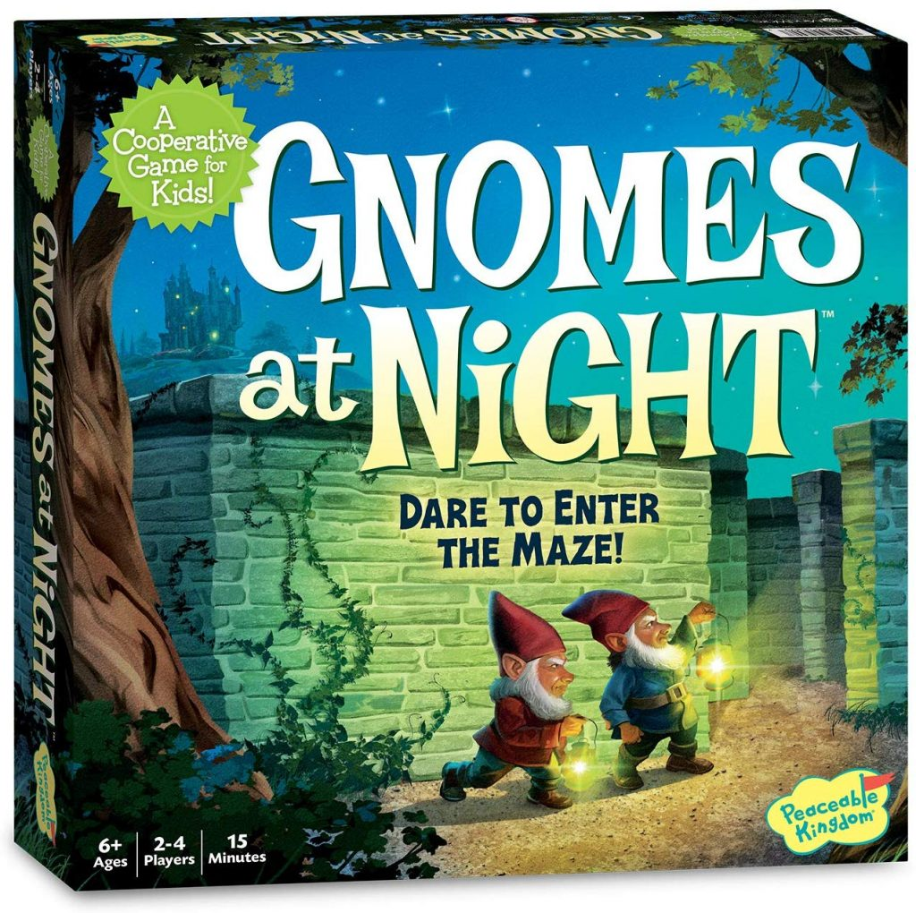 Gnomes at night board games for kids