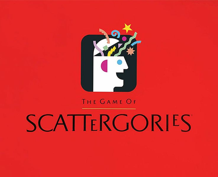 Scattergories board game for kids