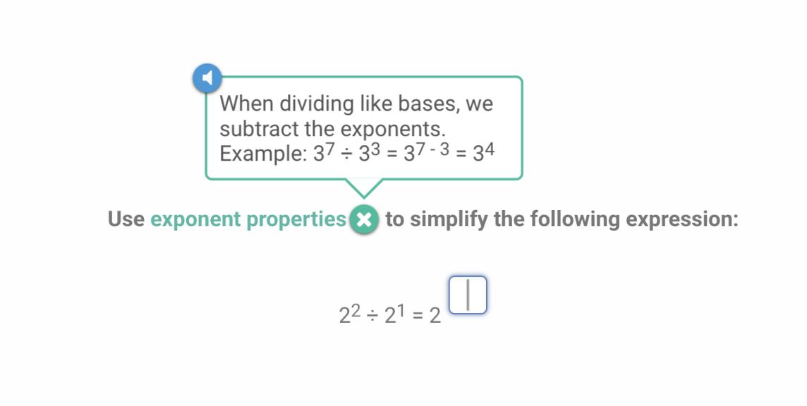 algebra exponent rules