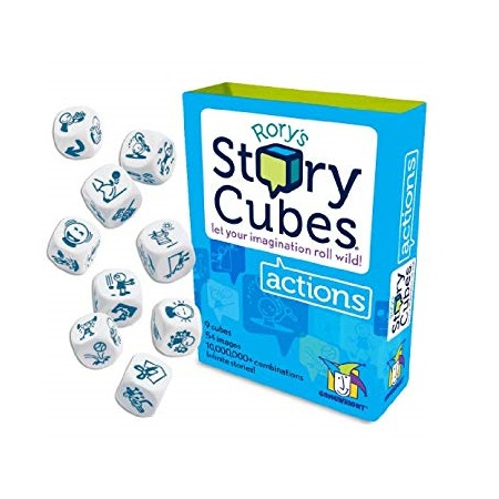 Rory's story cubes board games storytelling board games