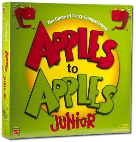 apples to apples junior board game for kids