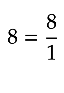 negative exponents with integers