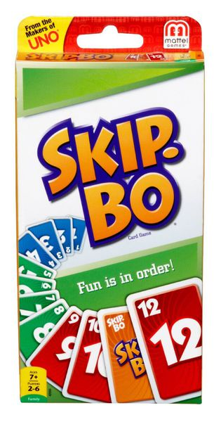 skip bo board game card game