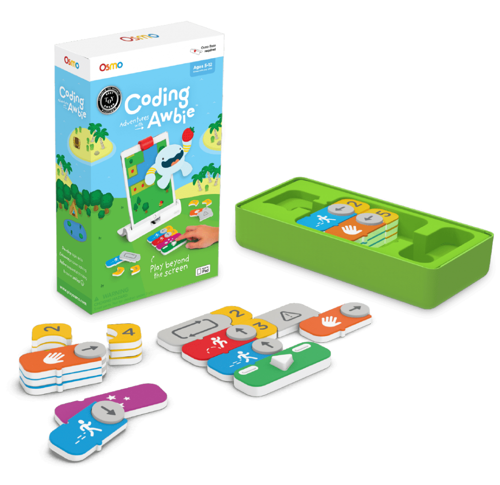 Osmo: Coding Awbie educational board games for kids