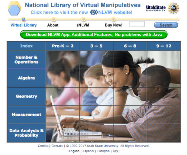 math websites for middle school free