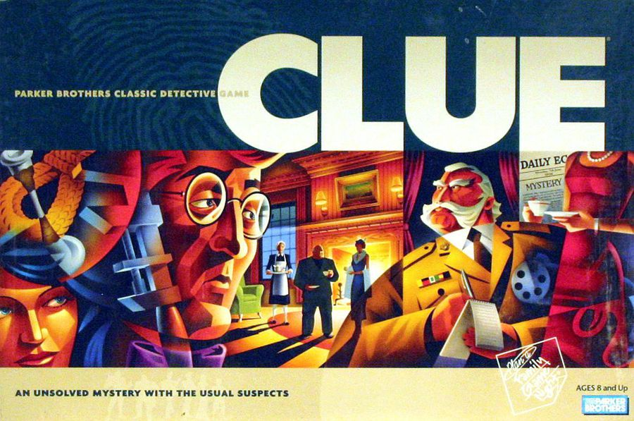 Clue board game for kids