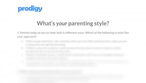 Parenting styles questionnaires