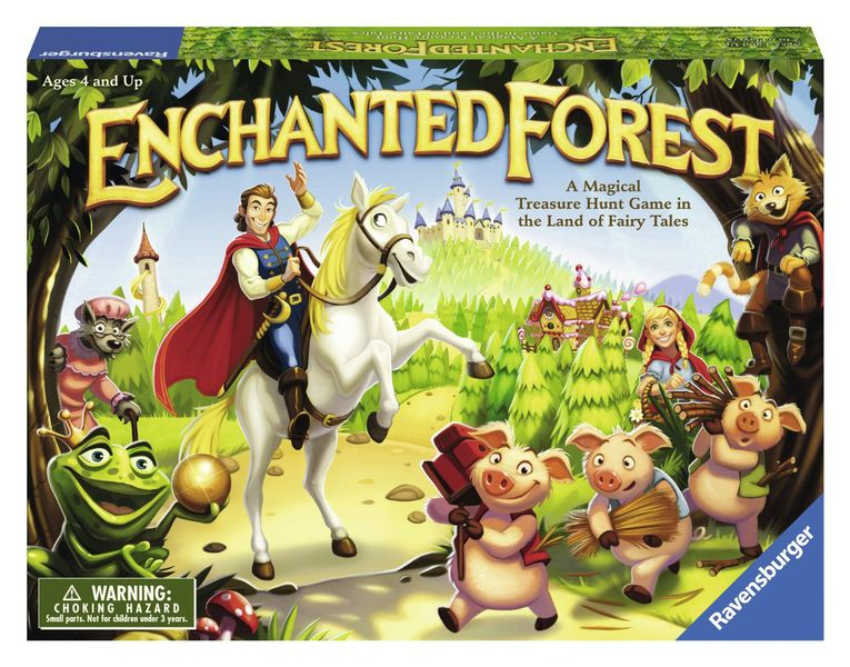 enchanted forest board game for young kids
