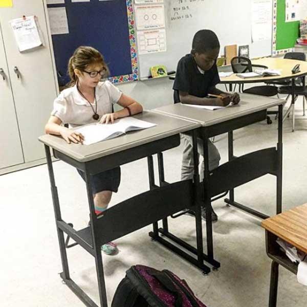 students-using-standing-desks