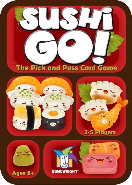 sushi go board game party game