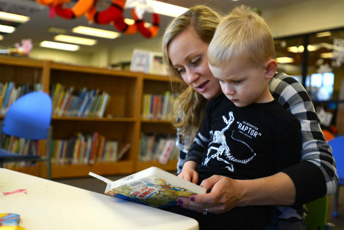 The impact of parental involvement in education is significant when parents read with their children.
