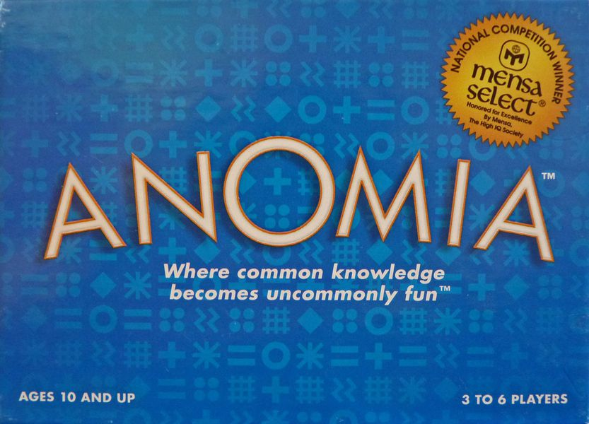 anomia card game board game