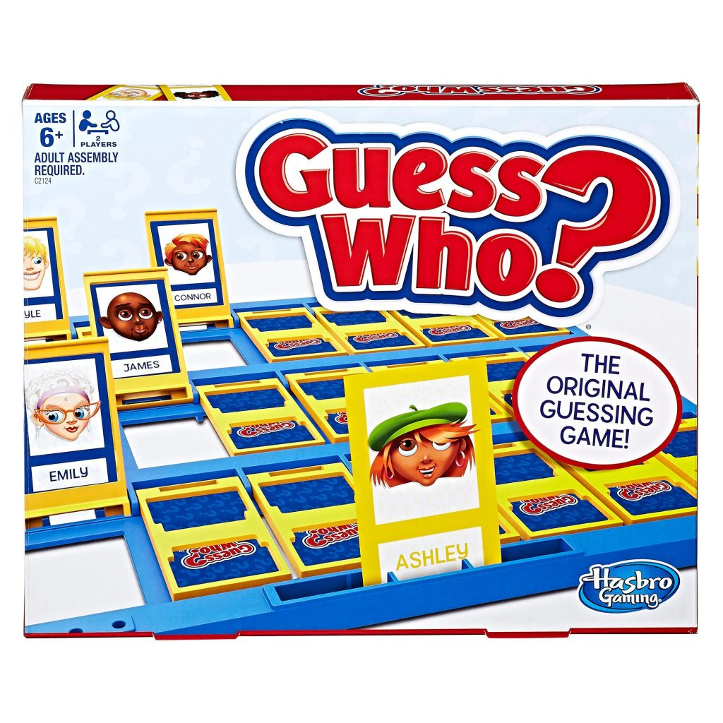 guess who classic board game for kids